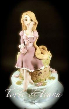 AWESOME RAPUNZEL CAKE