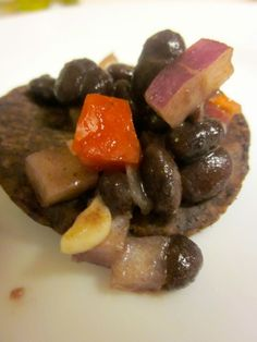 Black Bean Salsa Recipe (Yes, for NYE, you can use black eyed peas.)