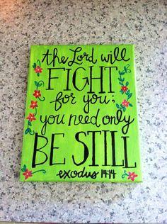 faith, god speak, inspir, paint, bible verses