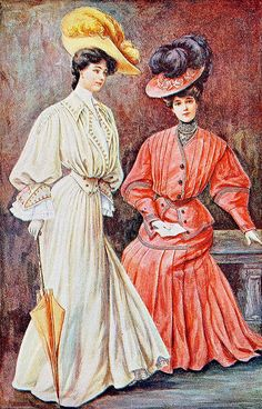 October 1904 Fashion by christine592, via Flickr.