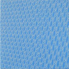 Sara Eichner-'chain link/blue'-Sears-Peyton Gallery