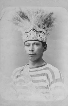 Wishe Ononsanorai (aka Michael Deerhouse) a Lacrosse player in Montreal, Quebec -Iroquois (Mohawk) - 1876