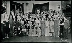Fancy dress ball, Sans Souci Guesthouse, Katoomba 1938