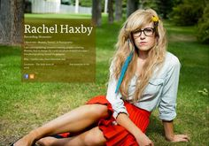 Rachel Haxby's page on about.me – http://about.me/rachelhaxby