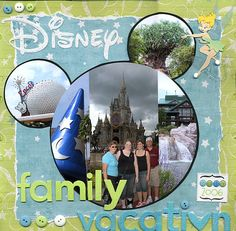 Disney Family Vacation - with my 3 boys.. awesome memories