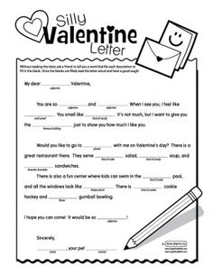 Valentine's Day - Mad Libs