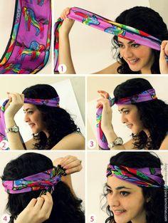 Como fazer um turbante