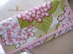 Cash Budgeting Purse Blooming Butterflies in by thelaughinghouse, $30.99