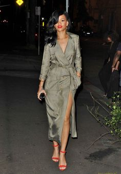 love rihanna's style lately