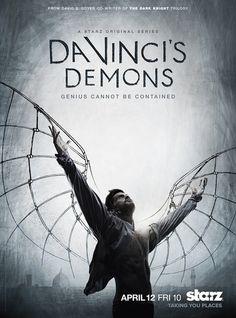 Da Vinci's Demons demons, seasons, tvseri, tv seri, movi, leonardo da vinci, posters, davinci demon, starz