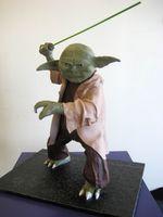 scary Yoda Cake