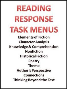 critical reading response In a critical analysis essay, you systematically evaluate a work's  to look up  terms or concepts you are unfamiliar with or research related reading prior to  writing.