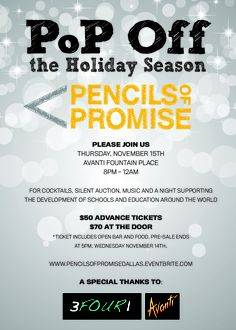 Pencils of Promise #Dallas