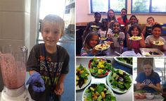 Kids Across The U.S. Learn Their Fruits And Vegetables