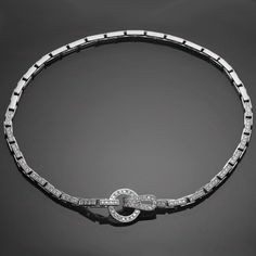1st dibs cartier diamond necklace on Pinterest