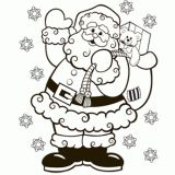 holiday, christma color, christmas recipes, christmas coloring pages, christmaswinternew year
