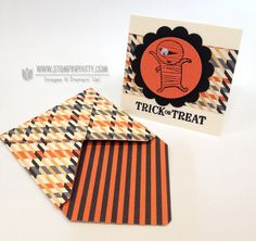 googly ghouls & toxic treats - stampin' up!