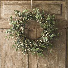 earthy wreath