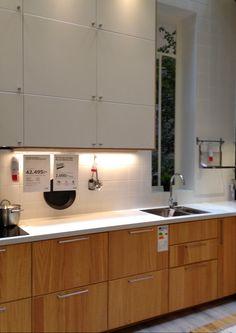 kitchen ikea metod hyttan oak effect pinterest. Black Bedroom Furniture Sets. Home Design Ideas