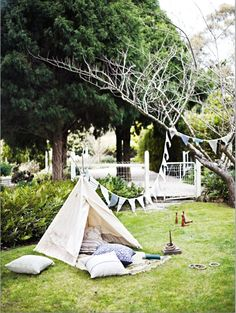 Garden Tent - image by Lisa Cohen