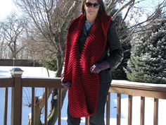 Chris Knits in Niagara: Infinity Hooded Cowl