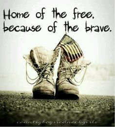 I love this!  Thanks so much to all of the men and women and their families who sacrifice so much for our freedom.