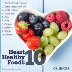 Looking to make a heart-healthy meal? Here are 10 foods worth keeping in your kitchen.