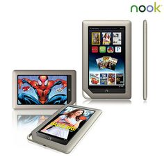 Barnes & Noble Nook Google Android 2.3 1GHz 16GB 7 Tablet PC | nomorerack.com
