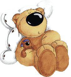 slumbering bear