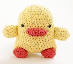 Toy duck crochet pattern