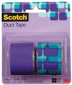 New Tutorial Exchange Opportunity - 2 Tutorial Makers will receive 5 rolls of duct tape to make something!