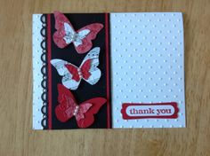 Stampin Up handmade thank you all occasion card by treehouse05