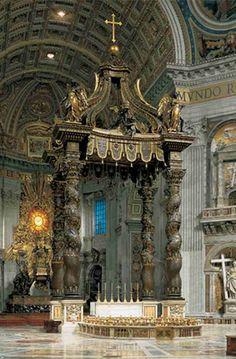 St. Peter Basilica, Vatican, Italy vatican citi, travel, place, italy