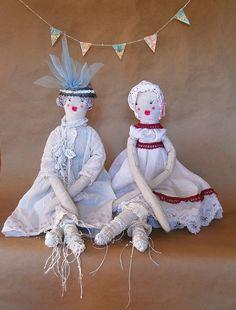 Art Doll Cloth Ragdoll Handmade Ooak Beatrice