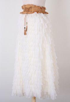 Swan Cloud Dress #Chicwish