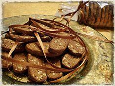 Biscottini al mosto cotto, senza uova, senza lattosio, senza glutine