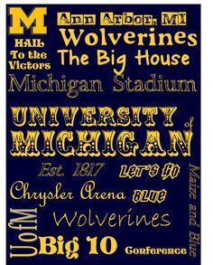 University of Michigan!