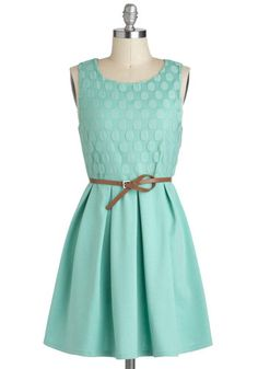 pretty mint dress