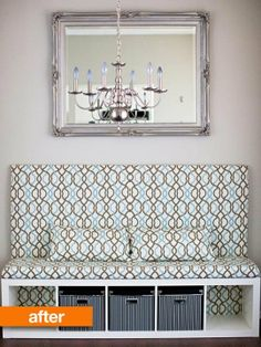 dining rooms, living rooms, bench, banquettes, shelving units, banquette seating, room makeovers, entryway, ikea hack