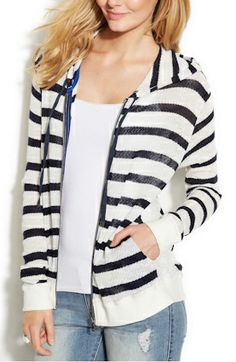 The perfect summer hoodie for under a hundred bucks - so excited to find this one.