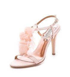REVEL: Blush Wedding Shoes