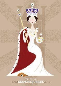 The Queens Diamond Jubilee 1952-2012