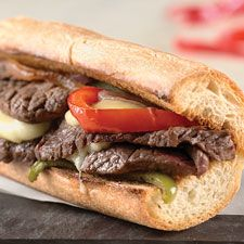 Cheesesteak Filling: King Arthur Flour