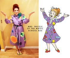 Halloween contest! Mrs. Frizzle The Magic School bus halloween costume