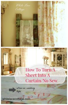 Making A Curtain Fro