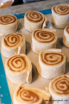 Cookie Butter Cinnamon Rolls: A seriously tasty twist on the traditional cinnamon roll!