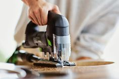 Woodworkers and DIYers will appreciate the Carvex 420 series Jigsaw by Festool. Handling curves doesn't get any easier: The motor adapts its speed to the material; a blower clears dust from your cutline; and LEDs synchronize with the blade, creating the illusion that it's stationary and making it easier to guide. About $350 from festooljigsaws.com | thisoldhouse.com