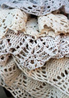 crochet inspiration, lovely crochet fabric #crochetfabric #crochet