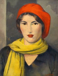 Leon Kroll  The Red Tam  1928