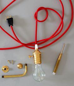 Pendant light DIY
